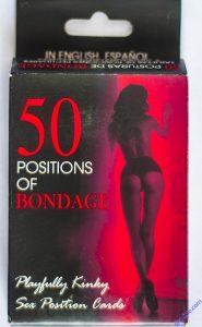 Cartas de 50 posiciones de bondage