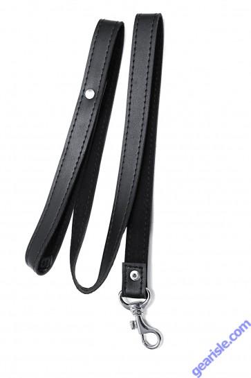 Leather Leash Triple X 12011