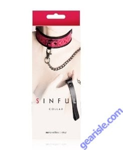 Sinful Collar-Red