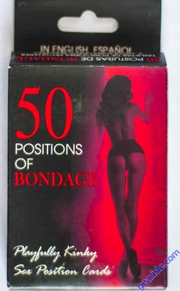 50 Positions Of Bondage Cards Cartes