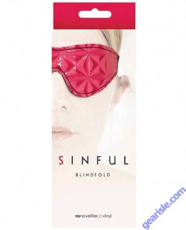 Sinful Red Blindfold by NS Novelties