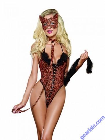 "Dreamgirl 9318 ""Cheeta-luscious"" Costume Lingerie"