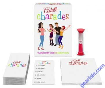 Adult Charades A Naughty Party Game
