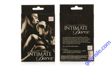 Intimate Dares: An Adult Erotic Card Game