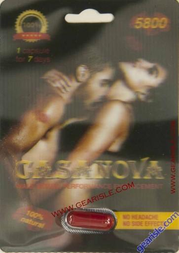 Casanova 5800 Male Sexual Performance Enhancement Pill