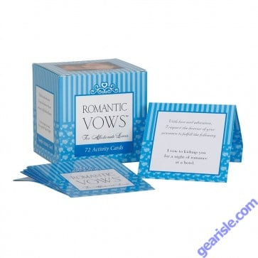 Romantic Vows For Affectionate Lovers