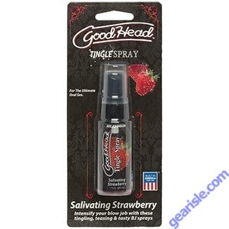 GoodHead Tingle Spray-Salivating Strawberry 1oz