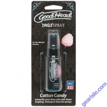 Goodhead Tingle Spray Cotton Candy 1 oz.