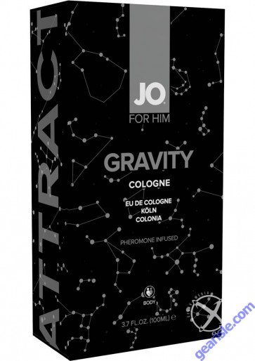 JO Gravity Cologne Infused With Pheromones For Men 3.9Oz Perfume