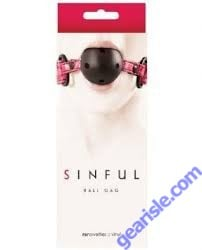 Sinful Ball Gag by NS Novelties