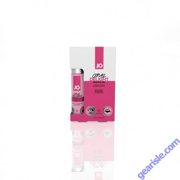 JO Oral Delight Cherry Brust Arousal Gel 1 Oz