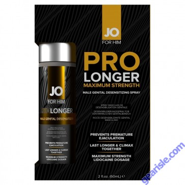 Jo Prolonger Spray Lidocaine 2 oz