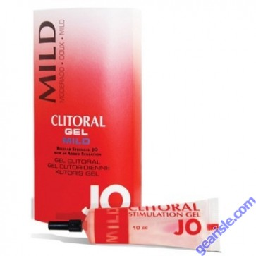 System Jo Clitoral Gel Mild For Women Who Need Extra Sensation Gel 10ml