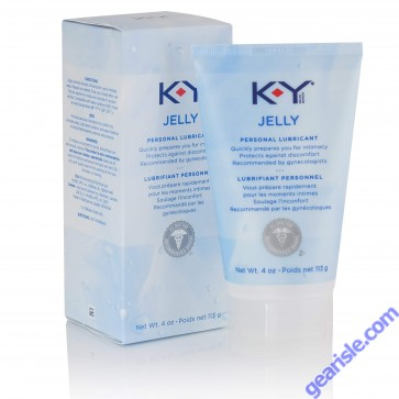 K-Y Jelly Lubricant, 4 Ounce