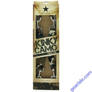 Kinky Camo Hogtie NS Novelties Vinyl / Canvas
