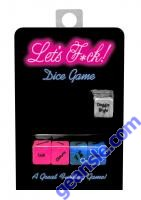 Let's F*ck Dice Game Sexy Adult Foreplay