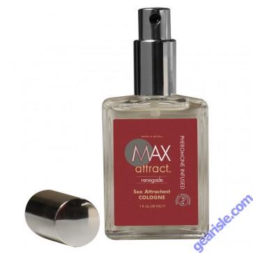 Max Attract Renegade Sex Attractant Pheromone Cologne For Men