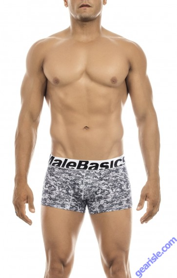 Male Basics Men's Performace Moisture Wicking Boxer Brief Camo MBC01