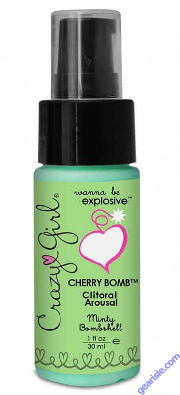 Crazy Girl Cherry Bomb Clitoral Arousal Minty
