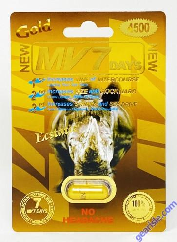 MV 7 Days Gold 4500mg  Male Sexual Enhancement  Pill
