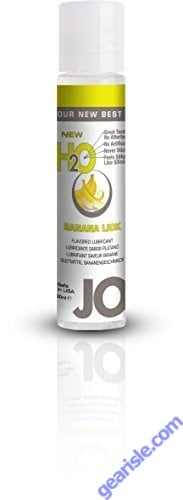 Jo H2O Juicy Banana Lick Lubricant 1 fl.oz/ 30ml Travel Size