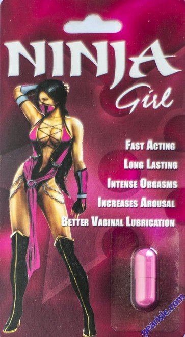 Ninja Girl Women Arousal Pill