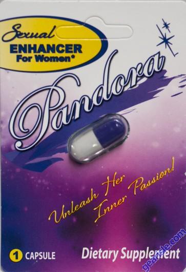 Pandora Sexual Enhancer For Women 825mg 1 Pill