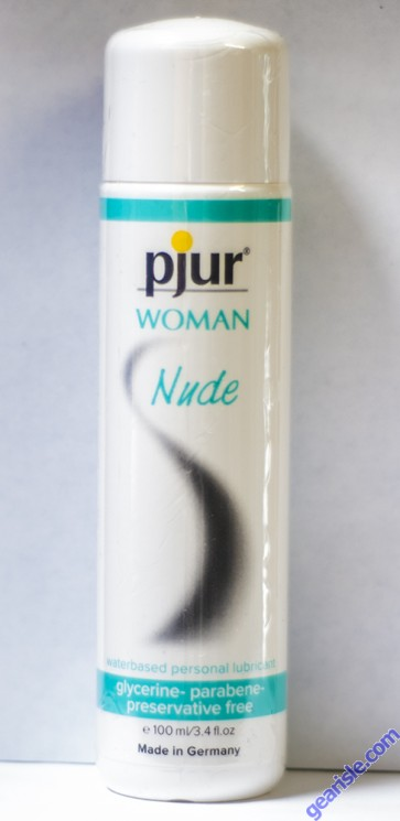 Pjur Woman Nude Water Based Personal Lubricant 3.4 FL.Oz