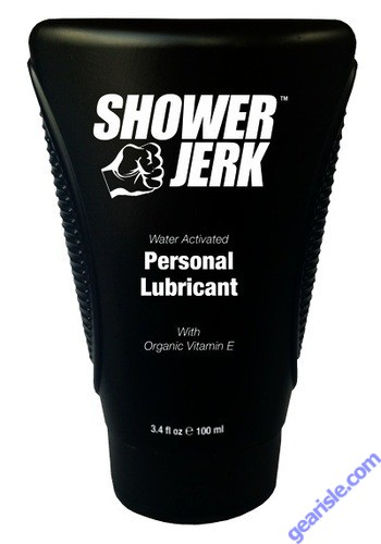Shower Jerk Water Activated Personal Lubricant 3.4 fl oz/ 100ml