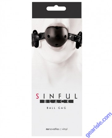 Sinful Hogtie Black NS Novelties