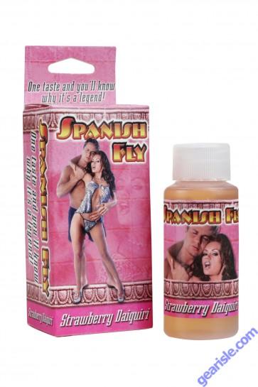Spanish Fly Strawberry Daiquiri Sex Liquid Drops Doc Johnson 1 fl Oz