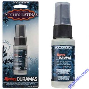 Noches Latinas Spray Duramas Aerosol Desensibilizante Para Genital Masculino 1 fl oz