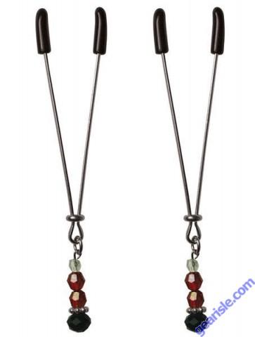 Ruby Black Nipple Clips Kit