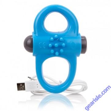 Charged Yoga Vibe Double Ring Blue ScreamingO