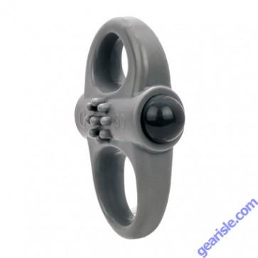 Charged Yoga Vibe Double Ring Grey ScreamingO