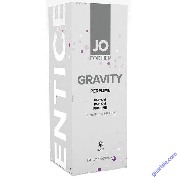 JO Gravity Perfume Infused With Pheromones For Her 3.4 fl. Oz