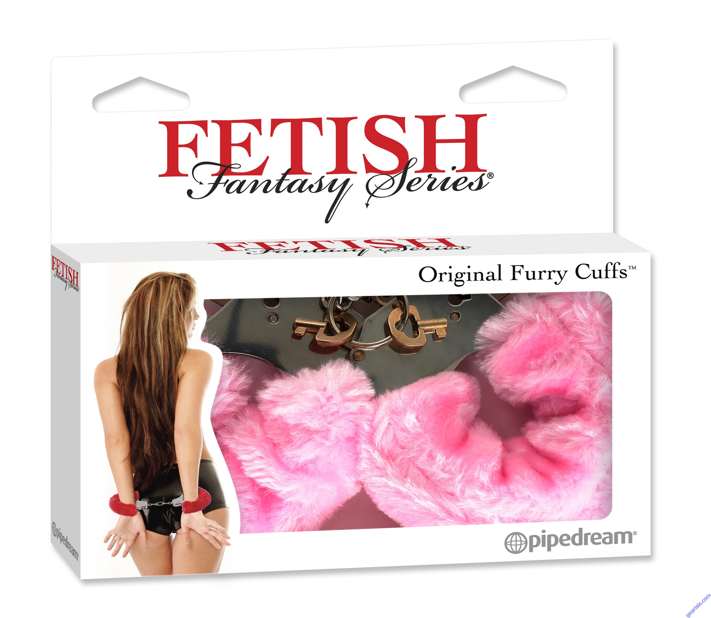 Original Furry Cuffs Pink Fetish Fantasy Series By Pipedream