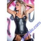 Vixen Corset Faux Leather 11-8402
