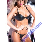 Faux Leather Sexy Siren Set 12-6402