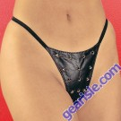 Leather G-String 2-200