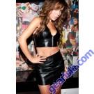 Leather Bustier Zipper 5-113