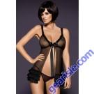Black Obsessive Kilia Sexy Bodydoll Lady Dress 5166 Lingerie