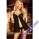 Hot Women's Sexy 5234 Lingerie Lace Dress Underwear Black Babydoll G-string