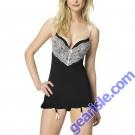 Jezebel Intrigue Slip Floral Sleepwear 81023