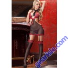 4 Piece Executive Tease Dress Sexy Lingerie 5891