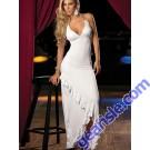 Sexy V-Neck Asymmetric Maxi Fashion Long Dress 7623