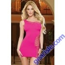 Dreamgirl 9289 Dangerous Curves Seamless Dress And G-String, 2Pc Set