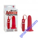 Adonis Vibrating Probe 10-Function Red Color