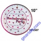 Bachelorette Party Plate 10 Piece