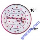 Bachelorette Party Plate 10 Piece
